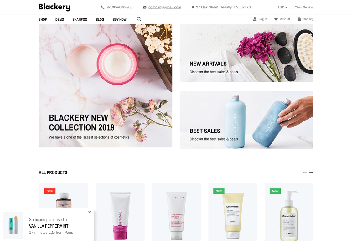 Multipurpose Shopify Theme