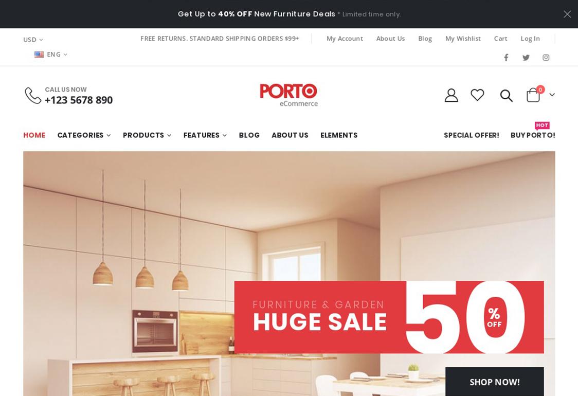 Porto WordPress Theme