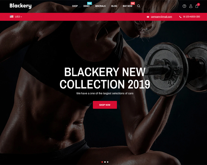 Blackery Shopify Theme