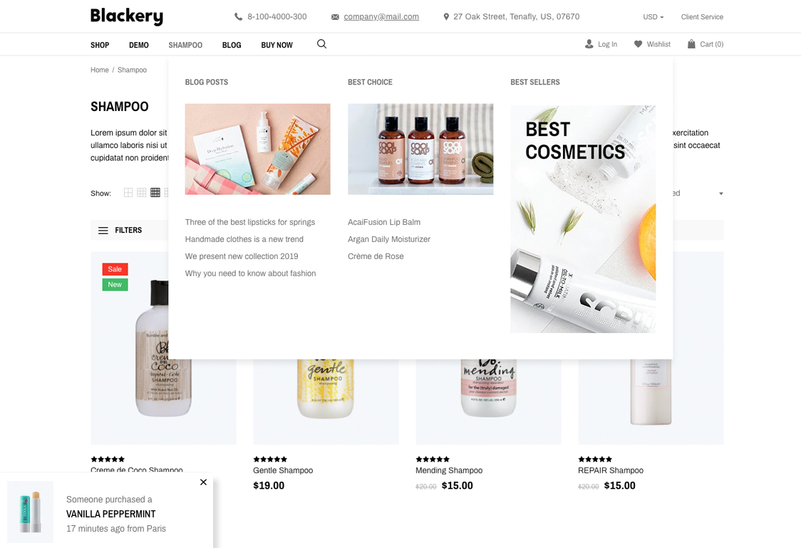 Multipurpose Shopify Theme