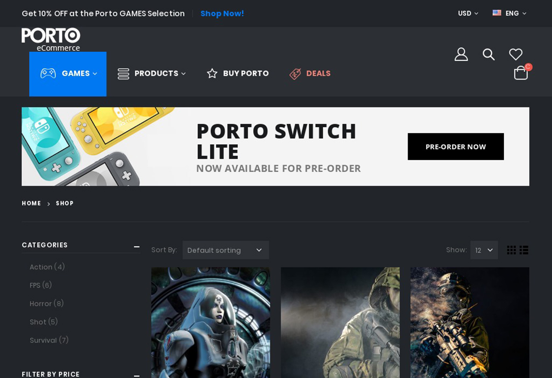 Porto WordPress Theme